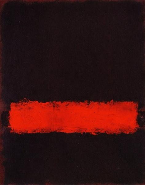Black, Red and Black, 1968 - Mark Rothko